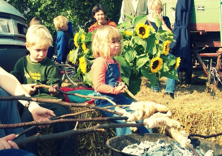 Kinderspaß auf dem Streuobstwiesenfest in Elmshorn